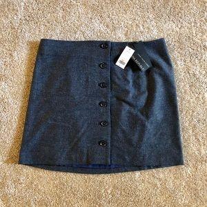 NWT Banana Republic Button Down Mini Skirt Size 12